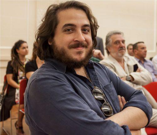 João Camarero foi vencedor do prêmio MIMO Instrumental 2015. Veio gravar um CD em Porto Alegre e acompanhou a apresentação da Oficina de Choro Santander  (Foto: Pedro Antonio Heinrich/especial)