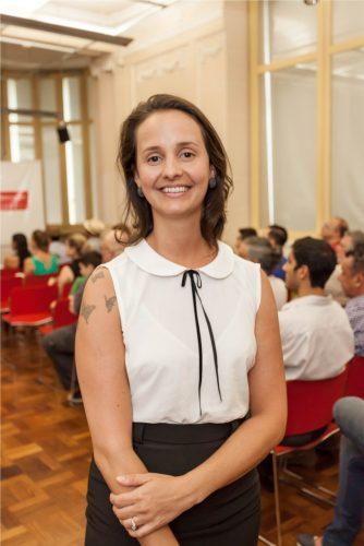 Mônica Kern, coordenadora da Oficina de Choro. (Foto: Pedro Antonio Heinrich/especial)