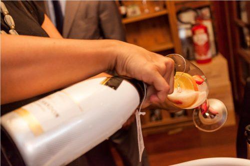 O Moët Ice é o primeiro champanhe do mundo desenvolvido para ser consumido com gelo no copo. (Foto: Pedro Antonio Heinrich/especial)