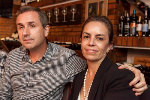 Patricia Ruas e Ricardo Pinho. (Foto: Pedro Antonio Heinrich/especial)