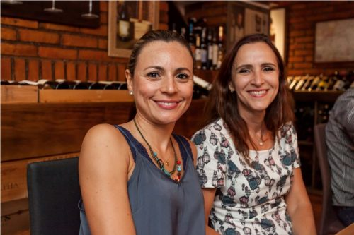 Vanessa Constant Barreto e Anete Kopp. (Foto: Pedro Antonio Heinrich/especial)