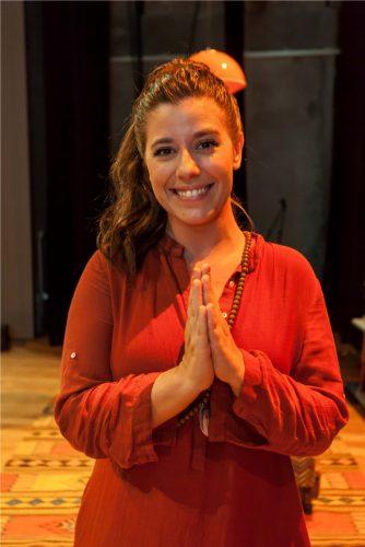 Miriã Possani, uma Rajneesh. (Foto: Pedro Antonio Heinrich/especial)