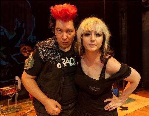 Julia Barth e Marcos Kligman. (Foto: Pedro Antonio Heinrich/especial)