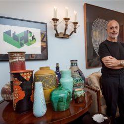 Renato Bing: ambientação categorizada em casa. (Foto: Pedro Antonio Heinrich/especial)