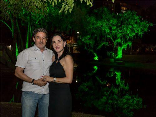 Inês e Fernando Medvedovski. (Foto: Pedro Antonio Heinrich/especial)