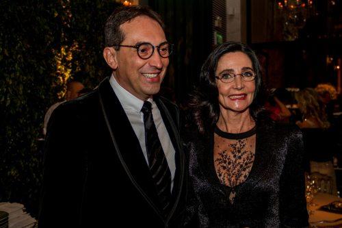Lulu Bartelle e Paulo Roberto Chiele. (Foto: Pedro Antonio Heinrich/especial)