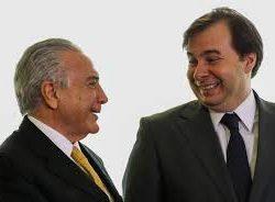 Temer e Rodrigo