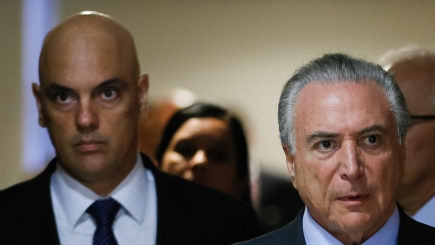 """""""Só depois que houver a indicação do relator"""", anunciou Michel Temer (D). (Foto: Beto Barata/PR)"""