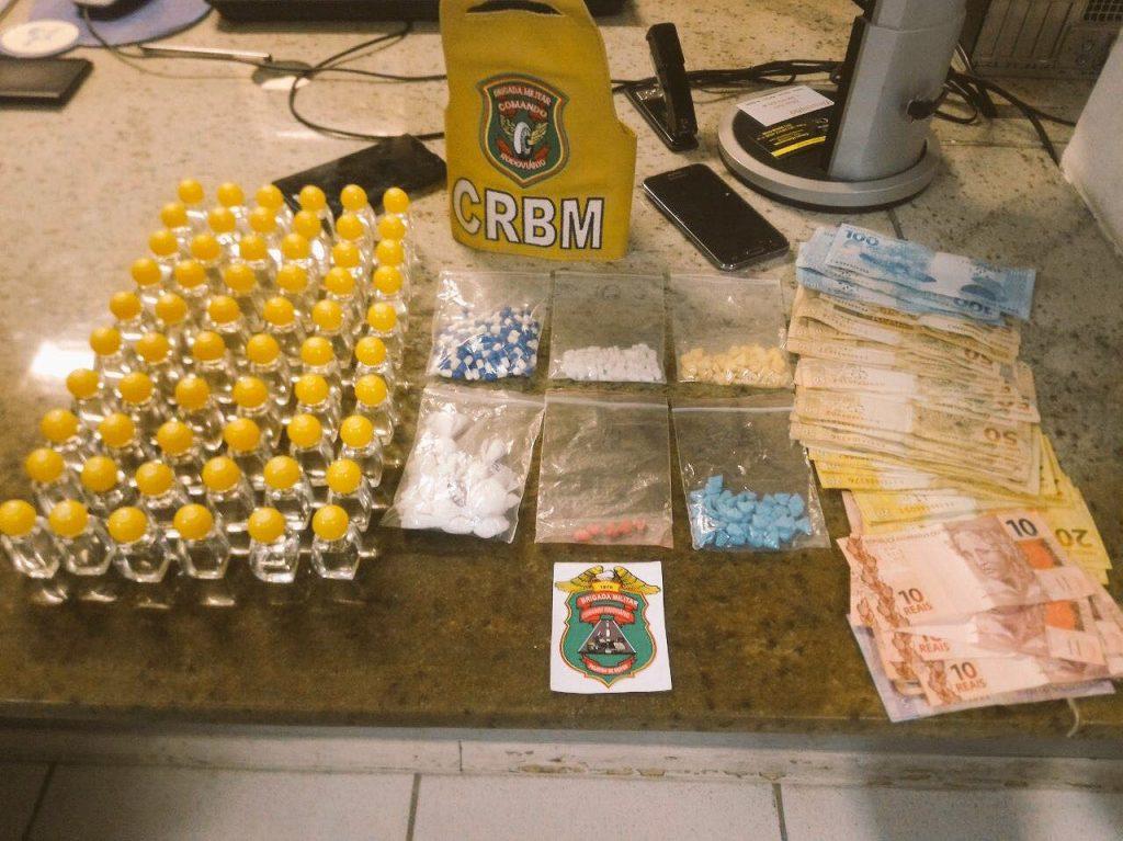 Apreensão foi feita  Pelotão de Motos do Comando Rodoviário da Brigada Militar. (Foto: CRBM/Divulgação)