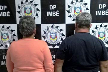 As penas do casal somadas ultrapassam 60 anos de reclusão. (Polícia Civil/divulgação)
