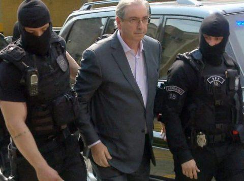 A ala onde vive parte dos políticos, como Eduardo Cunha, lobistas e empresários é contígua a uma em que ficam criminosos comuns. (Foto: Reprodução)