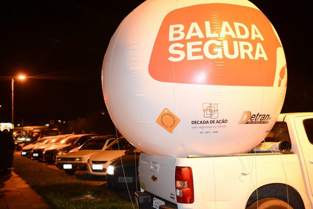 Completando seis anos em fevereiro de 2017, a Balada Segura continua apresentando resultados positivos (Foto: Leandro Osório/Especial Palácio Piratin)