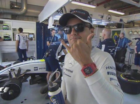 Massa agradeceu o apoio dos fãs. (Crédito: Reprodução)