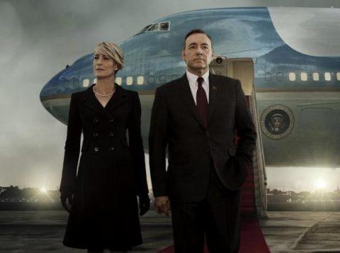 A nova leva de episódios deve mostrar os problemas de relacionamento entre Frank Underwood (Kevin Spacey) e Claire Underwood (Robin Wright). (Foto: Reprodução)