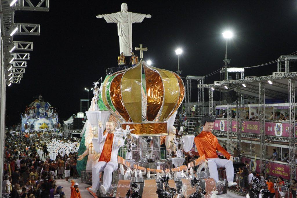 A Imperatriz Dona Leopoldina foi a campeã do carnaval de 2016 (Foto:  Ricardo Giusti/PMPA)