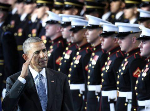 O presidente Obama participa de cerimônia das Forças Armadas em Washington, no início deste mês. (Foto: Reprodução)