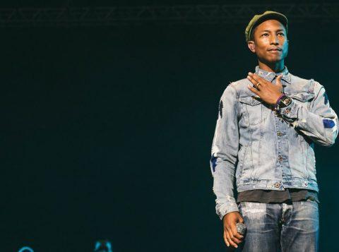 Pharrel também integrou o juri do The Voice americano. (Foto: Reprodução)