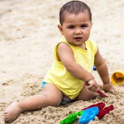 Arthur Zilli, 1,2 anos, pais - Silas Zilli e Kelly do Rosário Zilli ,  de Lagoa Vermelha em Capão da  Canoa