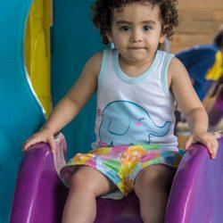 Isabela dandrea, 2 anos, pais - Leonardo Dandrea e Juliana Braga ,  de Porto Alegre no Sesc de Atlântida  .