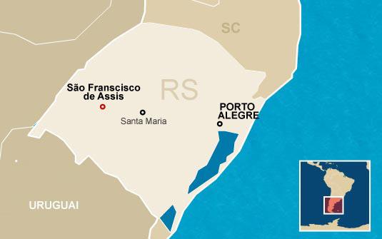 Mais de 400 moradores de São Francisco de Assis foram lesados, com prejuízo total de 25 milhões de reais. (Foto: Reprodução)