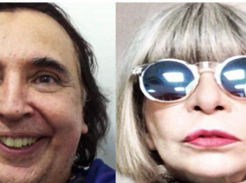 Sérgio Dias e Rita Lee (Foto: Reprodução)