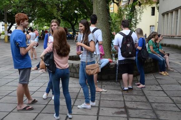 Ao todo, 33.459 candidatos se inscreveram para concorrer a 4.017 vagas em 91 cursos de graduação (Foto: Rochele Zandavalli/Ufrgs)