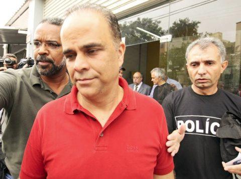 Valério está preso em Contagem, em Minas Gerais. (Crédito: Reprodução)