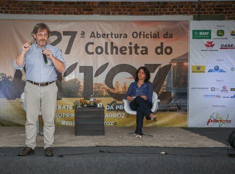 Especialista avalia que cadeia produtiva do arroz deve se adaptar às exigências do consumidor.Foto: Fagner Almeida/Federarroz/ Divulgação