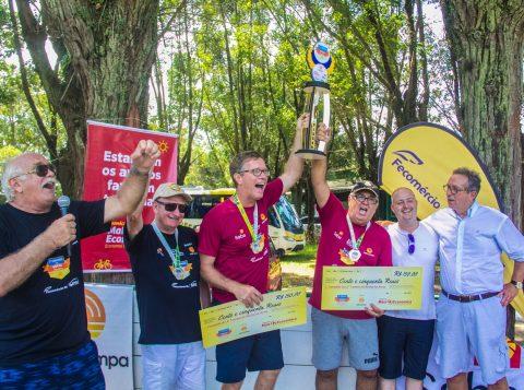 Equipe Bordô foi a grande vencedora do Torneio, cuja final aconteceu na manhã deste domingo, na SABA Campestre. Fotos: Jackson Ciceri/O Sul