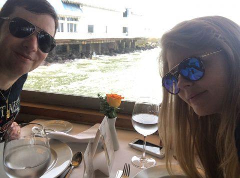 Janine e Nelson Dvoskin visitaram o restaurante La Rosa Nautica em Lima, no Peru. (Foto: Divulgação)