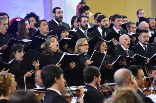 O Coro Sinfônico da Ospa está à procura de novos talentos. (Foto: Mariana Sirena/divulgação)