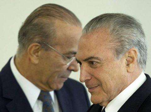 O ministro da Casa Civil, Eliseu Padilha e o presidente Michel Temer. (Foto: Reprodução)