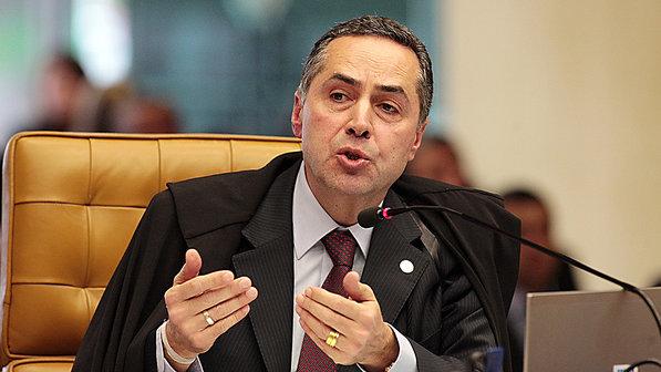 Resultado de imagem para Luís Roberto Barroso ministro