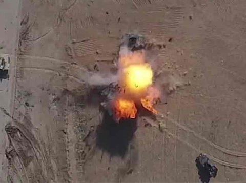 Estado Islâmico diz usar drones para atacar Mossul. (Foto: Reprodução)