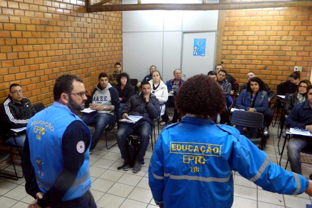 Atividade, no dia 25, abordará conteúdos sobre ciclistas e idosos (Foto: Thalles Campos/Divulgação PMPA)