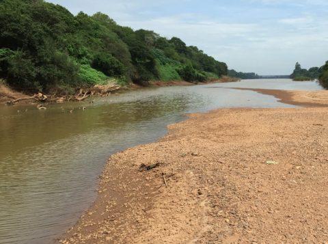 Passeio pelo rio Taquari acontece em Mariante,  distrito de Venâncio Aires (Foto: Samuel Gisch)
