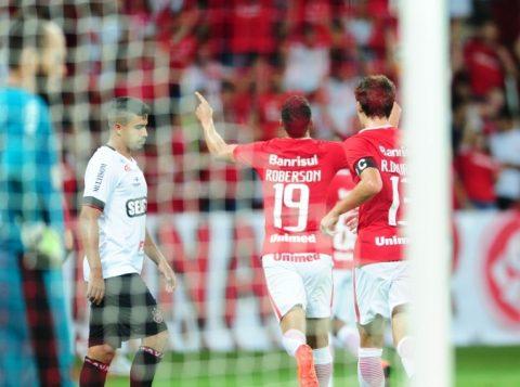 Roberson marcou seu primeiro gol com a camisa colorada. (Foto: Ricardo duarte/Inter)