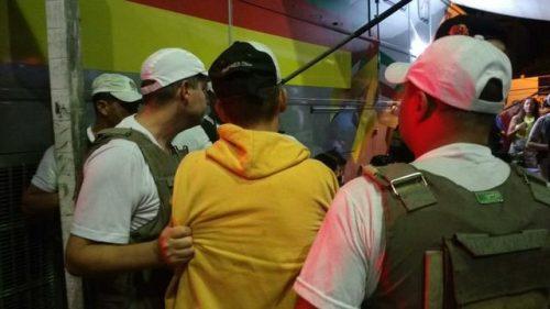 Ônibus do MP concentrou atendimento de ocorrências. (Foto: Marjuliê Martins/MP-RS)