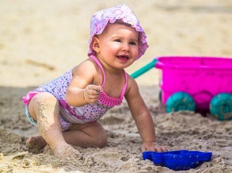 Luiza Bonaro Maciel , 10 meses , pais - Douglas de Souza Maciel e Elusa Bonato Barreto,  de Triunfo em Imbé .  Foto: Jackson Ciceri