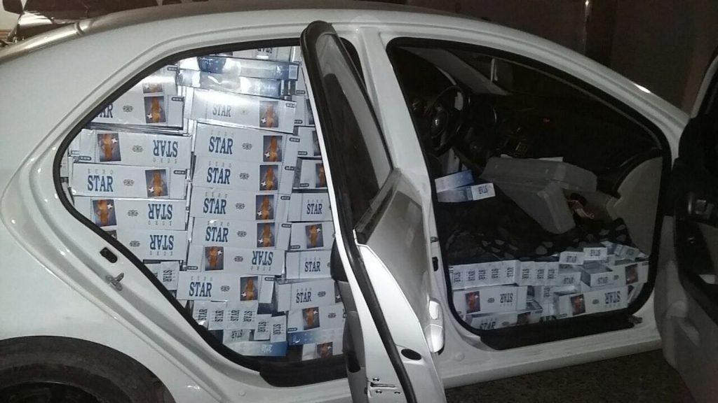 A carga é avaliada em mais R$ 50 mil. (Foto: PRF/Divulgação)