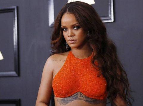 Rihanna agora tem 30 canções no top 100 da Billboard, só fica atrás de Madonna e dos Beatles. (Foto: Reprodução)