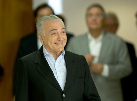 Chapa Dilma-Temer é alvo de ação no TSE (Foto: Divulgação)