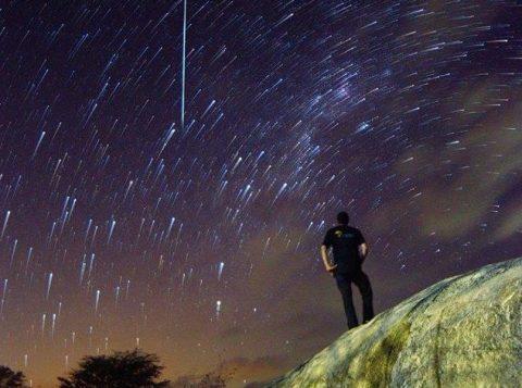 Chuva de meteoros (Foto: Reprodução)