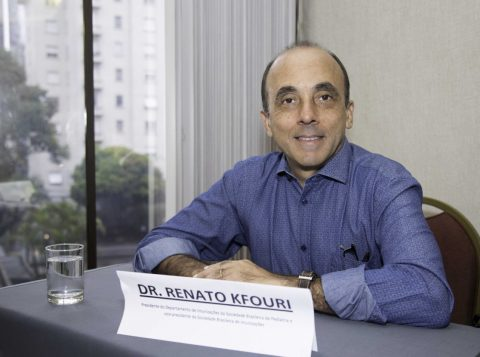Quem faz o alerta é o presidente do Departamento de Imunizações da Sociedade Brasileira de Pediatria, Renato Kfouri  (Foto: Divulgação)