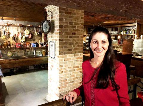 Nicole Pelissoli Facin, restaurateur da casa. crédito Silvia Miebach - Evidência Press