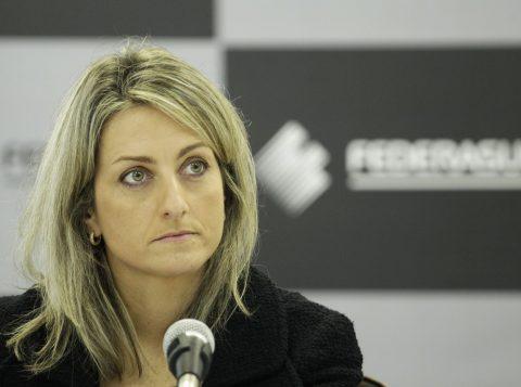 Presidente da Federasul, Simone Leite.