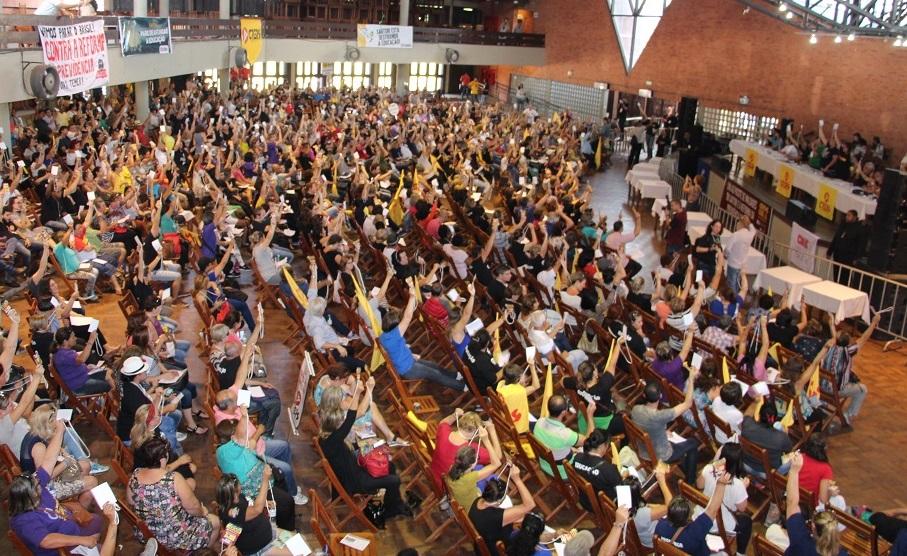 Categoria decidiu pelo fim da greve (Foto: Divulgação/Cpers)