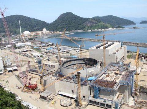Obras da Usina de Angra 3, em foto de outubro de 2013 (Foto: Divulgação/Eletronuclear)