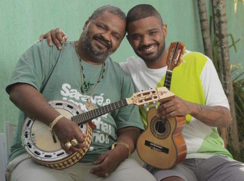 Arlindo Cruz e Arlindo Neto, do Pagode 2Arlindos, são atrações na programação de carnaval do Terreirão. do Samba (Foto: Divulgação/ Riotur)