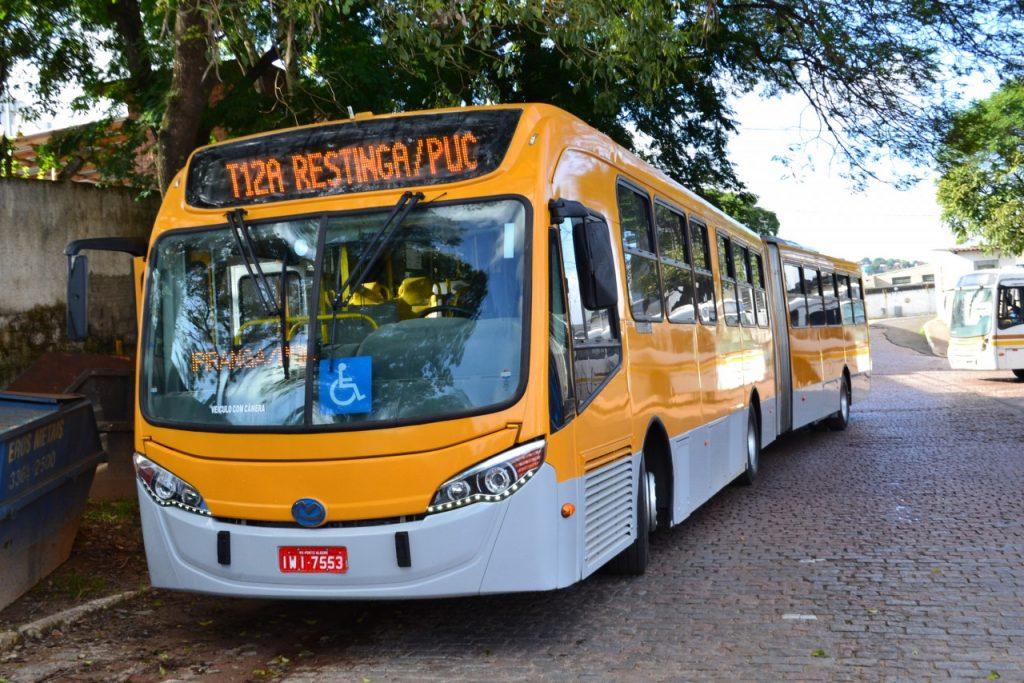Projeto de implantação do sistema GPS nos ônibus começou na linha T12. (Foto: João Paulo Magalhaes/PMPA)